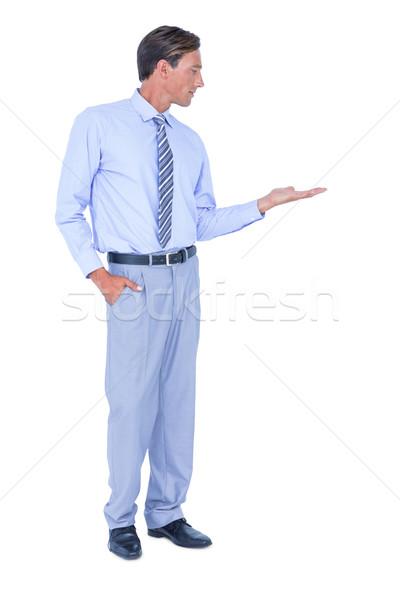 a thoughtful businessman Stock photo © wavebreak_media