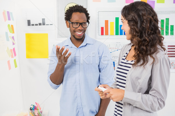 Young smiling business people Stock photo © wavebreak_media