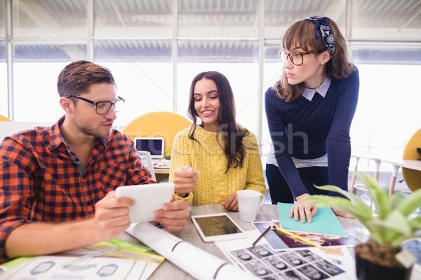 Business people discussing in meeting Stock photo © wavebreak_media