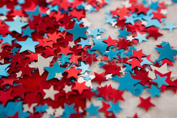 звездой форма украшение синий Сток-фото © wavebreak_media