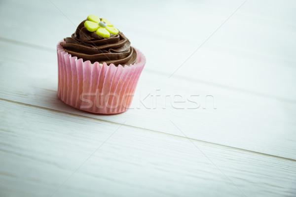 Delicious cupcake on a table Stock photo © wavebreak_media
