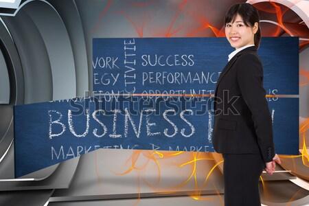 бизнесмен ждет лифта служба исполнительного корпоративного Сток-фото © wavebreak_media