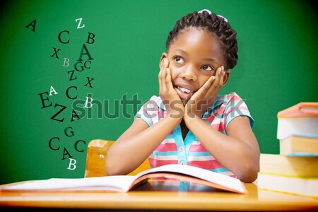 Afbeelding school kind digitale Stockfoto © wavebreak_media