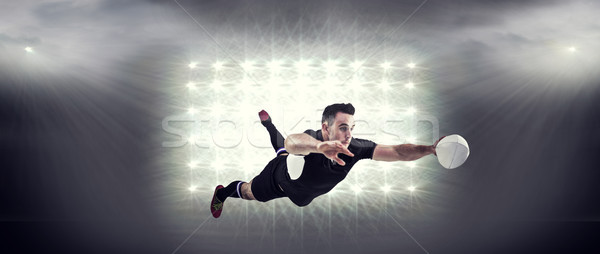 изображение регби игрок человека спорт Сток-фото © wavebreak_media