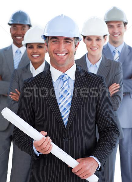 肖像 カリスマ的な 建築 チーム ビジネス 女性 ストックフォト © wavebreak_media