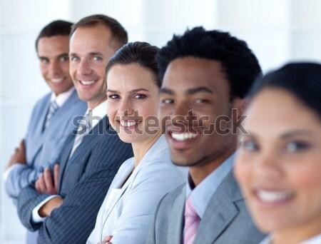 Diverso sesión línea oficina cara Foto stock © wavebreak_media
