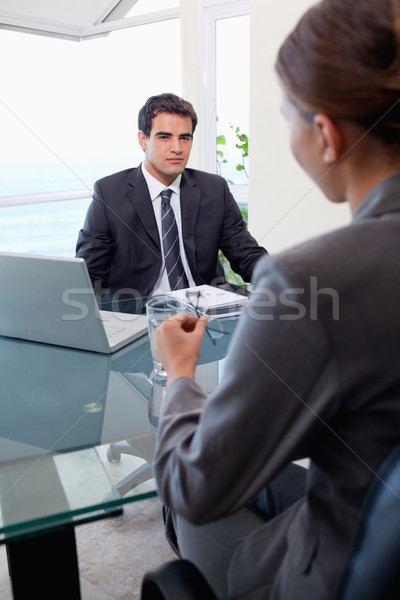 портрет бизнес-команды заседание служба бизнеса работу Сток-фото © wavebreak_media