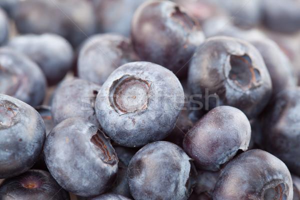 Close-up of blueberries on focus shot Stock photo © wavebreak_media