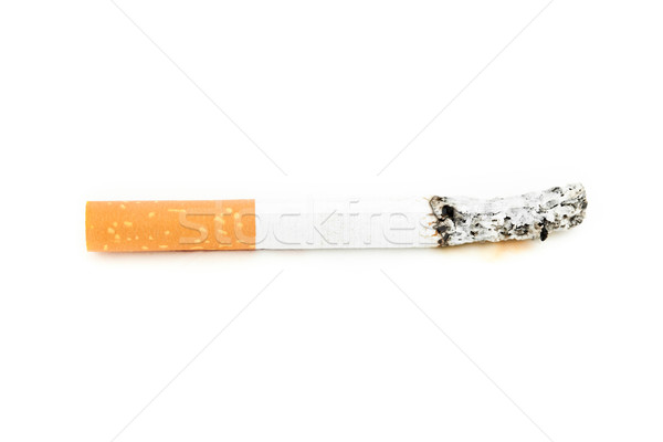 Cigarette consumed against a white background Stock photo © wavebreak_media