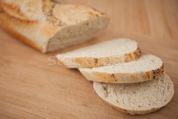 Pavot semences baguette bois alimentaire Photo stock © wavebreak_media