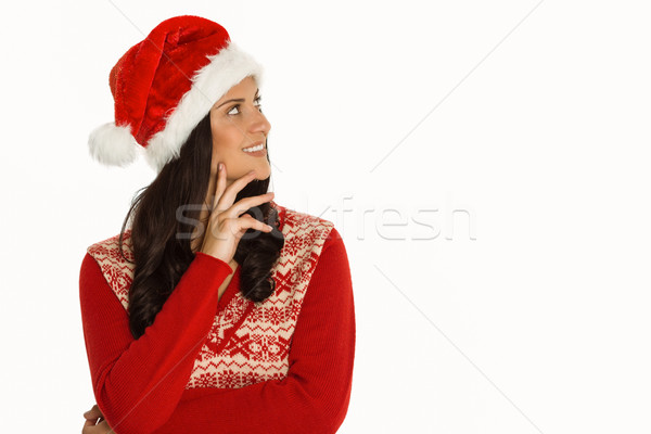 Woman smiling and looking away Stock photo © wavebreak_media