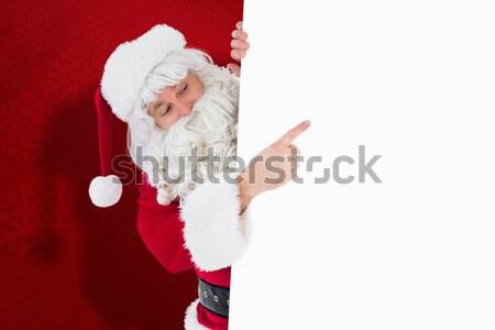 ünnepi apa karácsony bemutat felirat fehér Stock fotó © wavebreak_media