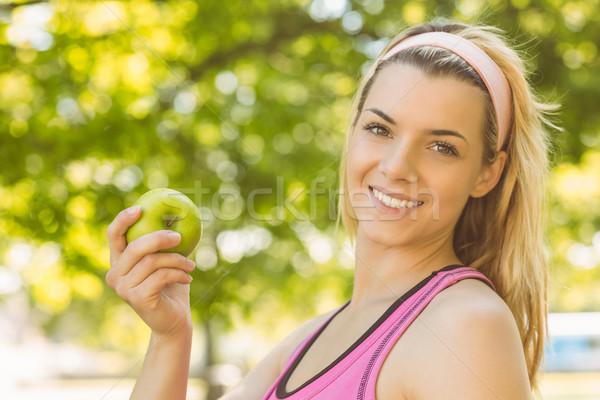 Encajar verde manzana Foto stock © wavebreak_media