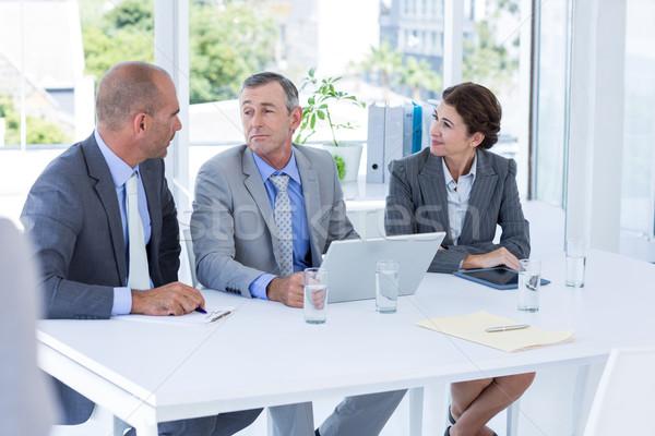 Entrevue panneau candidat bureau affaires Photo stock © wavebreak_media