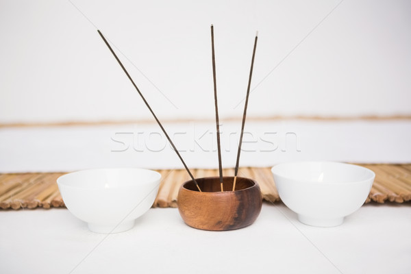 Incense burning and perfumed candles Stock photo © wavebreak_media