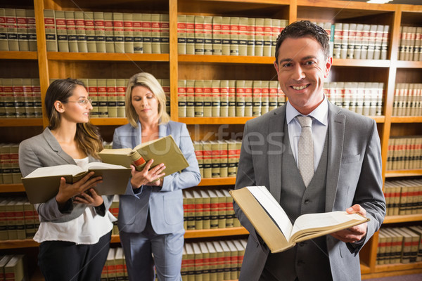 Advogados lei biblioteca universidade livro escolas Foto stock © wavebreak_media