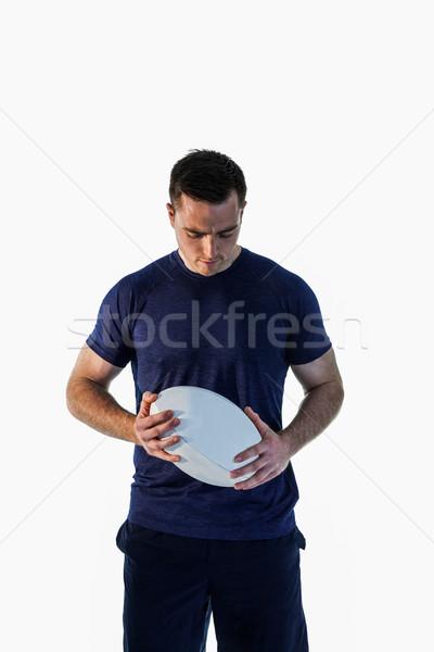 Atento homem branco esportes Foto stock © wavebreak_media