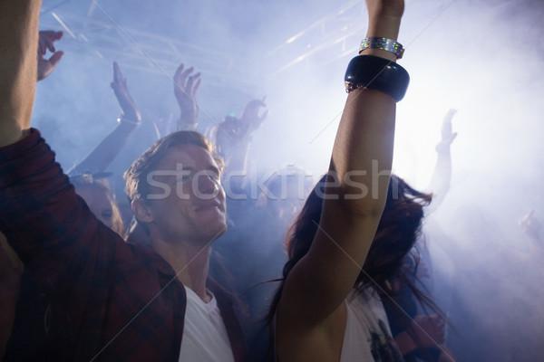 группа людей танцы концерта ночном клубе человека рок Сток-фото © wavebreak_media