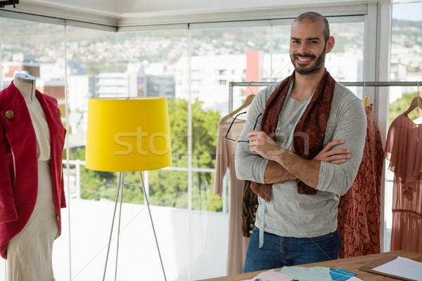 портрет улыбаясь мужчины дизайнера Постоянный Сток-фото © wavebreak_media