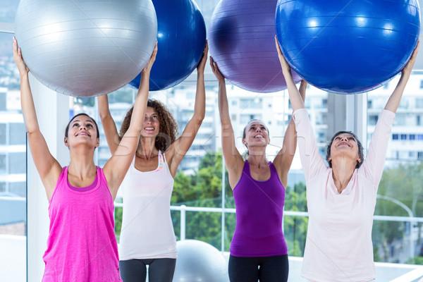 Kadın egzersiz Stok fotoğraf © wavebreak_media