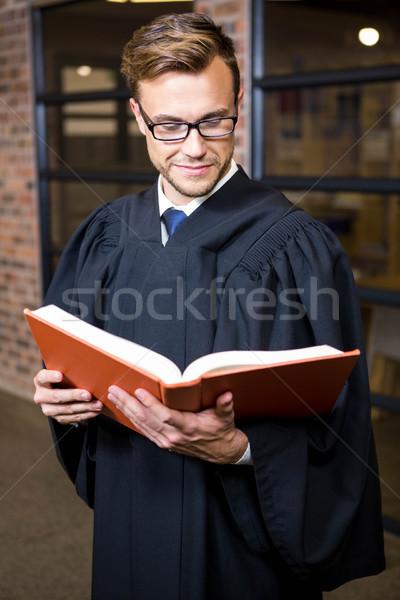 弁護士 読む 法 図書 ライブラリ オフィス ストックフォト © wavebreak_media
