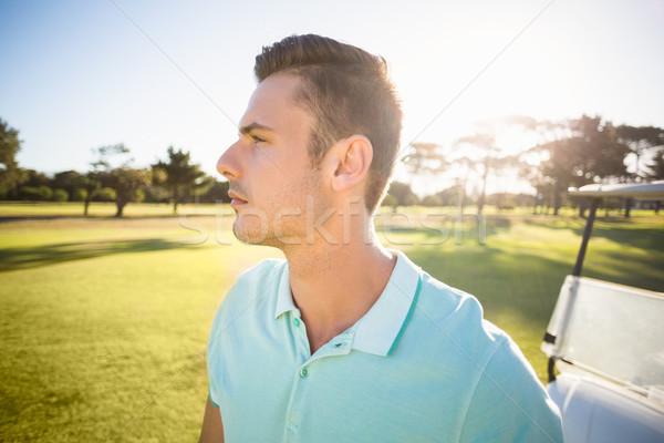гольфист человека Постоянный области спорт Сток-фото © wavebreak_media