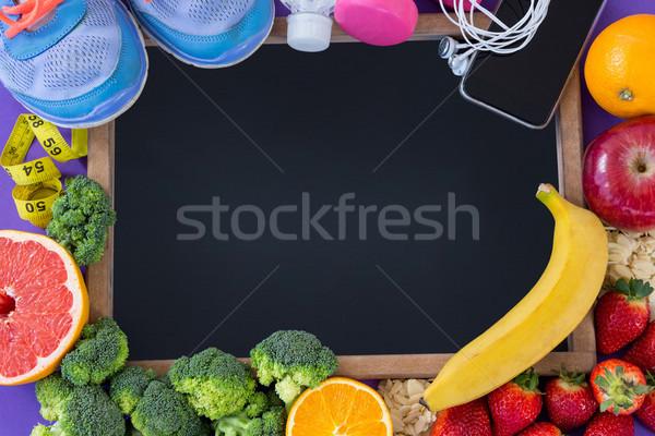 Fitness frutas legumes maçã Foto stock © wavebreak_media