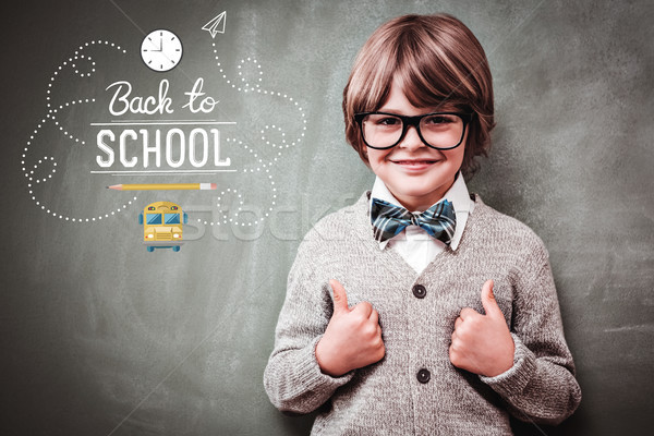 Stock photo: Composite image of back to school