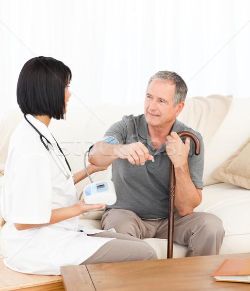 Infirmière patient femme médecin Photo stock © wavebreak_media