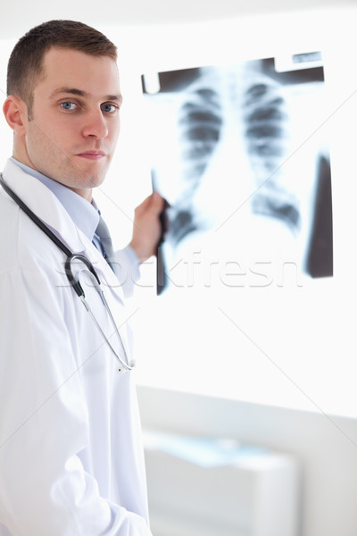 Stok fotoğraf: Doktor · xray · görüntü · hasta · tıbbi