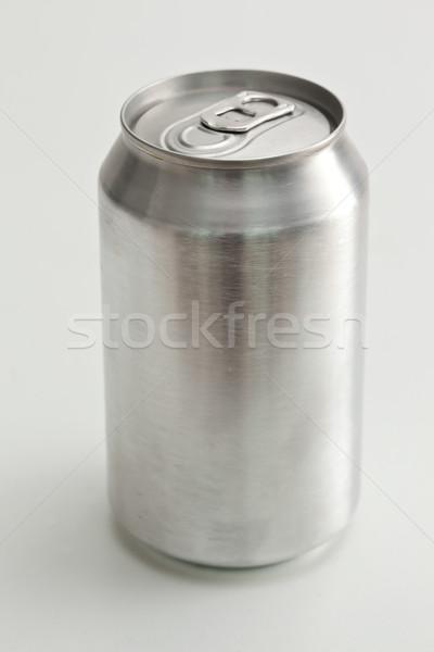 Aluminium closed can against a white background Stock photo © wavebreak_media