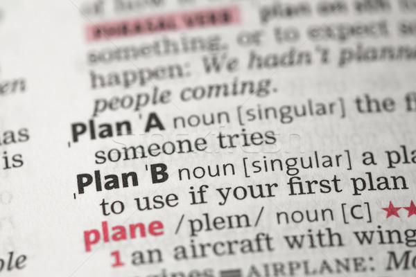 プランb 定義 辞書 ビジネス 教育 コンセプト ストックフォト © wavebreak_media