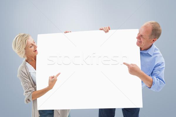 Afbeelding volwassen paar glimlachend Stockfoto © wavebreak_media