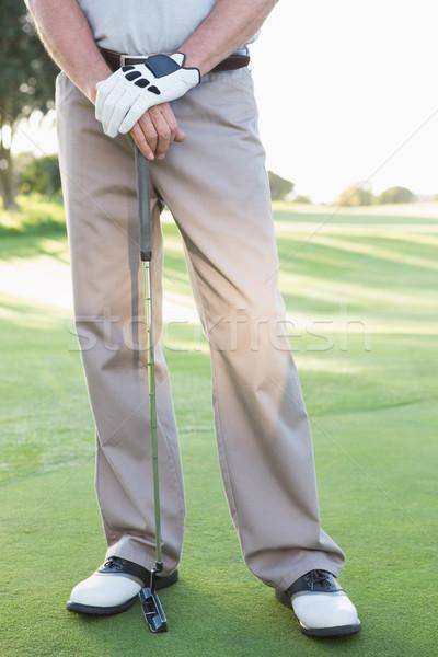 снизить гольфист Постоянный клуба Сток-фото © wavebreak_media