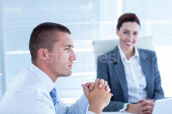 ビジネスの方々  議論 オフィス 事務 男 チーム ストックフォト © wavebreak_media