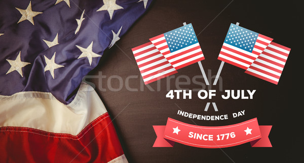 Composite image of independence day graphic Stock photo © wavebreak_media