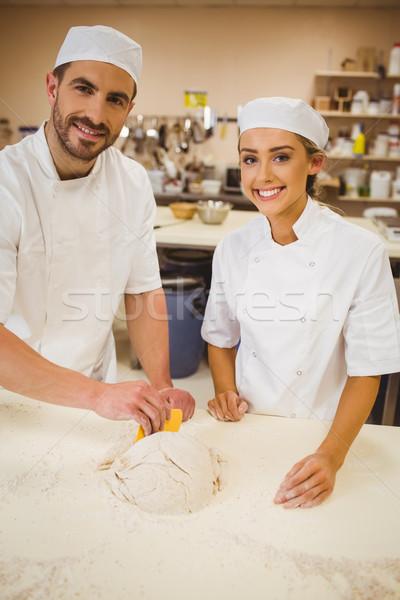 команда коммерческих кухне студент ресторан портрет Сток-фото © wavebreak_media
