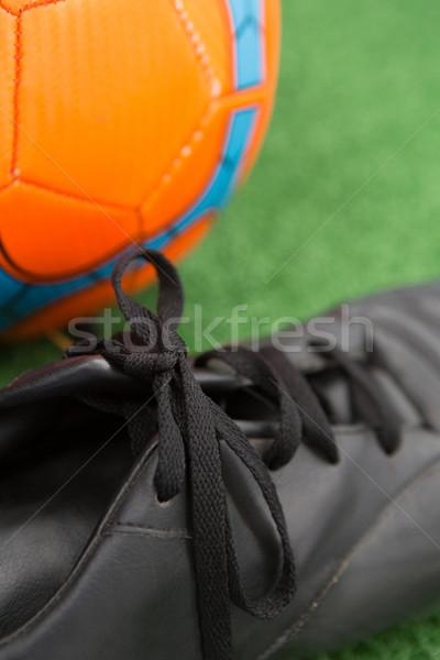 Football herbe artificielle football balle jeu Photo stock © wavebreak_media