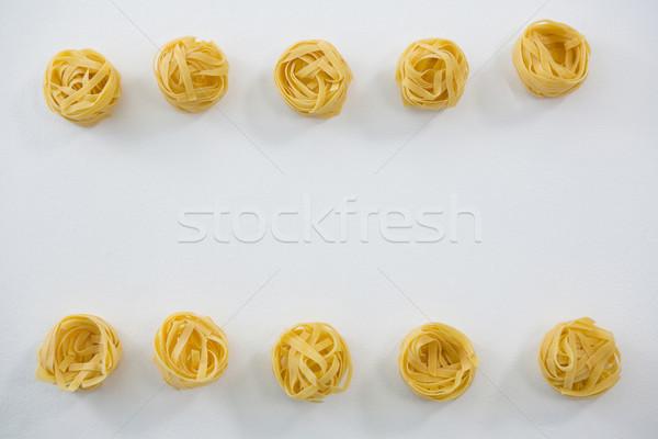 Tészta csetepaté vakáció ebéd életstílus hideg Stock fotó © wavebreak_media
