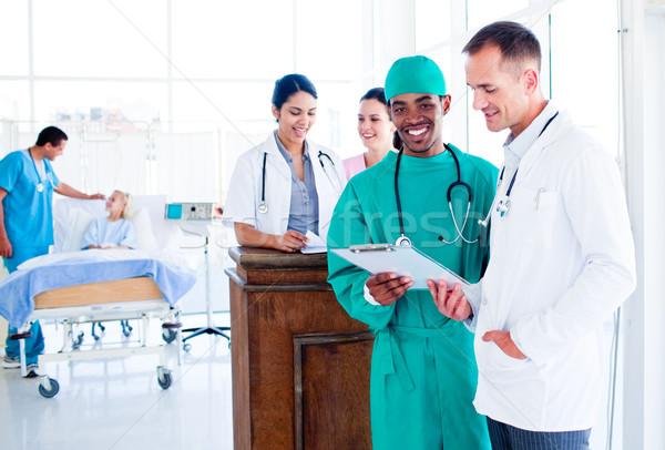 Portret ambitny medycznych szpitala pracy Zdjęcia stock © wavebreak_media