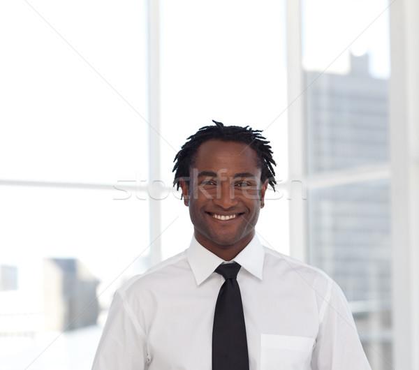 Portrait of a cute businessman Stock photo © wavebreak_media