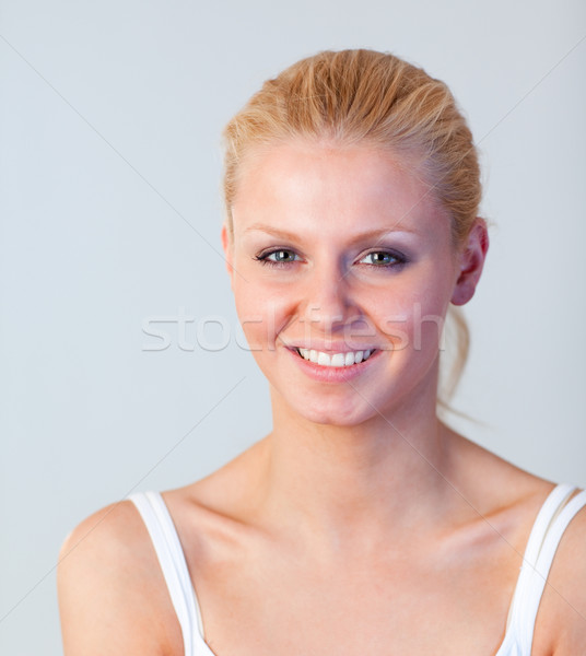 Portrait of a healthy woman looking at the camera  Stock photo © wavebreak_media