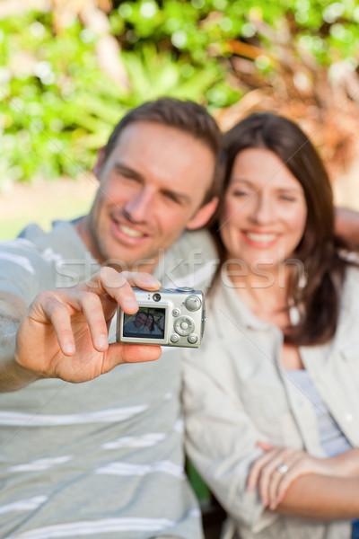 愛好家 写真 庭園 女性 家族 ストックフォト © wavebreak_media
