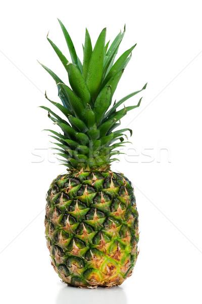 ананаса угол белый продовольствие здоровья еды Сток-фото © wavebreak_media