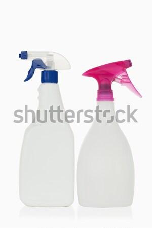 Rózsaszín spray üveg fehér víz ház Stock fotó © wavebreak_media