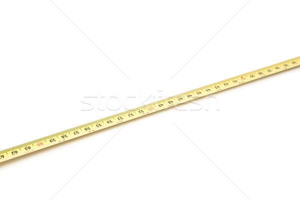 クローズアップ ベンチマーク ツール 白地 測定 ストックフォト © wavebreak_media