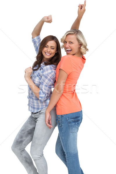 Two women having fun Stock photo © wavebreak_media