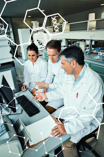 Afbeelding wetenschap medische grafische team Stockfoto © wavebreak_media