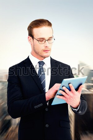 Сток-фото: бизнесмен · белый · человека · корпоративного