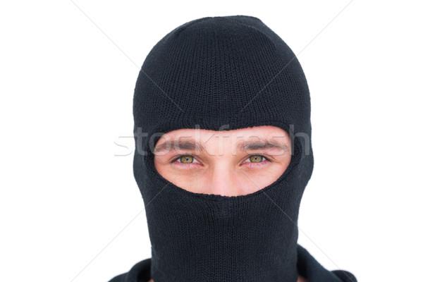 Ritratto uomo guardando fotocamera bianco criminalità Foto d'archivio © wavebreak_media